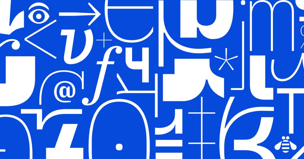 IBM Plex typeface
