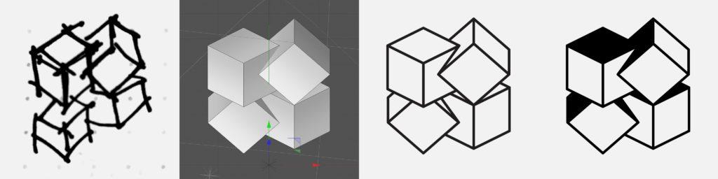 BlockSquared Consulting logo progression