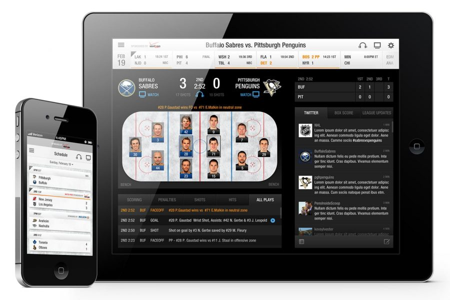 NHL Mobile App