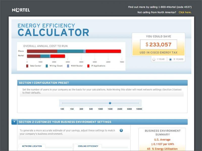 Nortel Sales Web App
